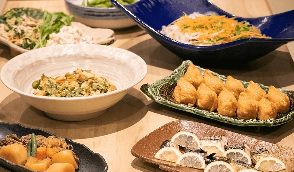 喜晴の料理はどれもおススメです